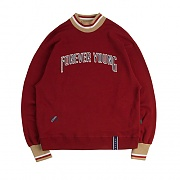 FY TURTLE SWEAT SHIRT_BURGUNDY