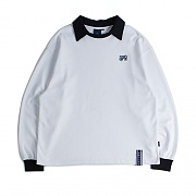 RTW COLLAR SWEAT SHIRT_WHITE