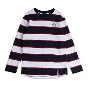 STRIPE LONG SLEEVE_NAVY