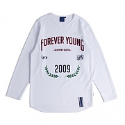 FOREVER YOUNG LONG SLEEVE_WHITE