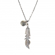 #135 NAVAJO FEATHER NECKLACE