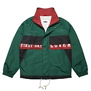 TYPO RETRO SPORTS JACKET-GREEN