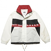 TYPO RETRO SPORTS JACKET-WHITE