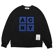 ACNY PATCH SWEAT-SHIRTS-BLACK