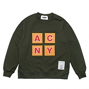ACNY PATCH SWEAT-SHIRTS-KHAKI