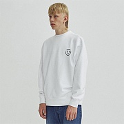 SMILE CREWNECK GA [WHITE]
