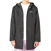 TONY LONG HOODED COACH JACKET-BLK
