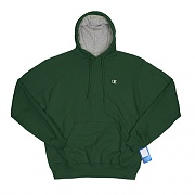 ECO FLEECE PULLOVER HD-DARK GREEN