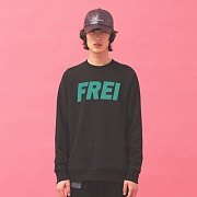 BIG LOGO SWEATSHIRT(BLACK)