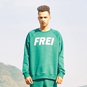 BIG LOGO SWEATSHIRT(GREEN)