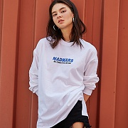 LOGO LONG SLEEVE SHIRTS_WHITE