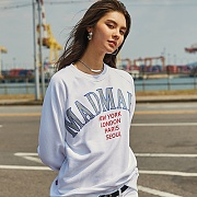 EMBROIDERED SWEATSHIRTS_WHITE