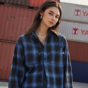 CHEQUERED SHIRTS_BLUE