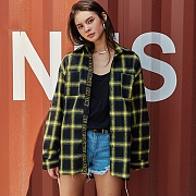 CHEQUERED SHIRTS_YELLOW