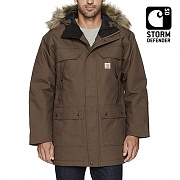 (102728)QUICK DUCK SAWTOOTH PARKA-(029)D.CANYON BROWN