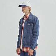 LIGHT WASHED DENIM JACKET GA [BLUE]
