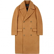 Oversize Double Coat - Camel