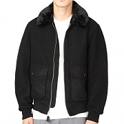WOOL B-10 JACKET-BLACK(blk)