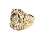 #159 OLD SAILOR RING-BRASS