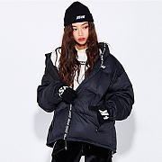 NSTK LIKE FURY PADDING JACKET (BLK)
