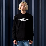 ARRANGE SWEATSHIRTS-BLACK