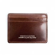 211# RIGID CORDOVAN X CARD WALLET