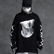 Half dead head oversized long sleeve