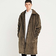 SHERPA MAC JACKET-BRN