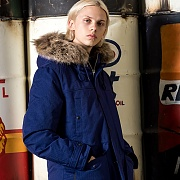 ARCTIC DOWN PARKA-NAVY