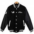 UPST Show Me Circle Stadium Jacket Black
