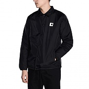 (I023077)SPORTS PILE COACH JACKET-BLK(WAX)
