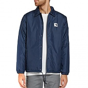 (I0230778)SPORTS PILE COACH JACKET-STEEL NAVY(WAX)