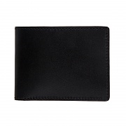 245# 0317 WALLET- BLACK CORDOVAN