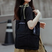 [로아드로아]ROIDESROIS - AH CHOO SHOULDER BAG (BLACK) 숄더백 가방