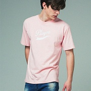 [어반플레이어스]TAIL LOGO SHORT SLEEVE T-SHIRTS (PINK)