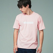 [어반플레이어스]RECTANGLE PRINT SHORT SLEEVE T-SHIRTS (PINK)