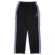 LOGO ZIP TRACK PANTS-BLACK