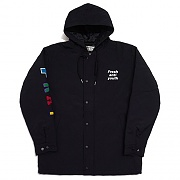 ANTIWINTER FRAY PARKA-BLACK
