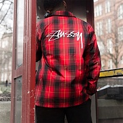 CRUIZE COACH JACKET-RED