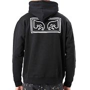 (112470007)OBEY EYES HOOD-BLK