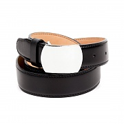252# 92.5 SILVER CW OFFICER BELT-PLAIN