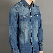 122 DENIM SHIRTS-INDIGO