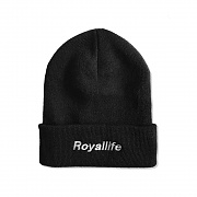 RLBC103 ROYALLIFE LOGO BEANIE - 7 COLORS