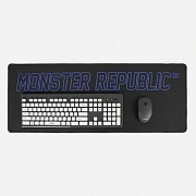 WIDE MOUSE MAT / BLUE