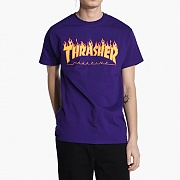 FLAME TEE-PURPLE