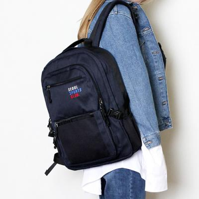 SSC SQUARE BACKPACK (NAVY)