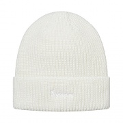 Loose Gauge Beanie-White