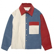 11'S CORDUROY MIX SHIRTS-JACKET-IVORY