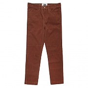 11'S CORDUROY BASIC FATIGUE PANTS-BROWN