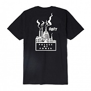 (163081665)PALACE OF POWER TEE-BLK